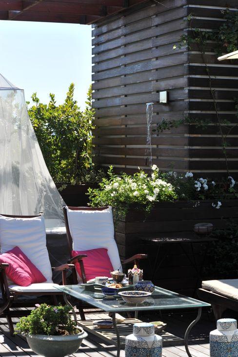 Studio Architettura del Paesaggio Giardini Giordani di Luigina Giordani Flat roof