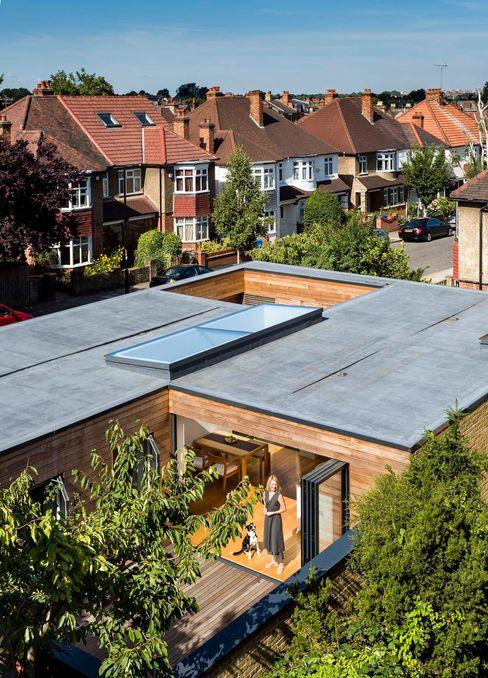 Courtyard House - East Dulwich Designcubed Modern houses