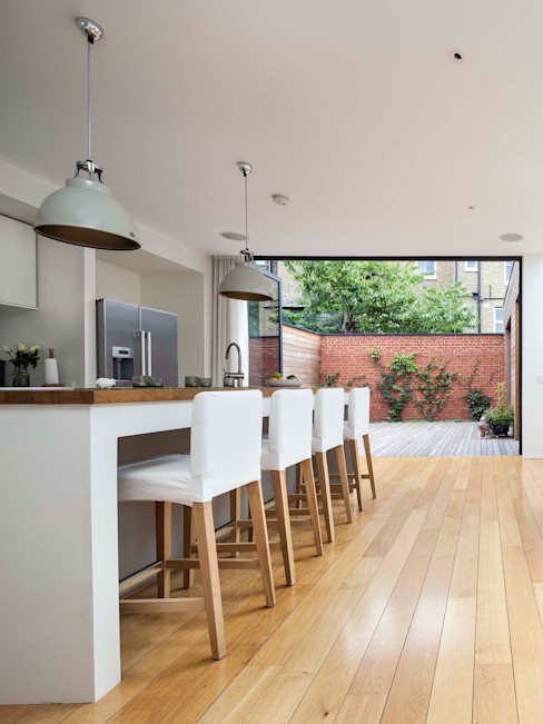 Courtyard House - East Dulwich Designcubed Modern style kitchen