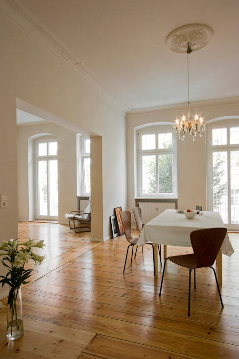 Nickel Architekten Modern dining room