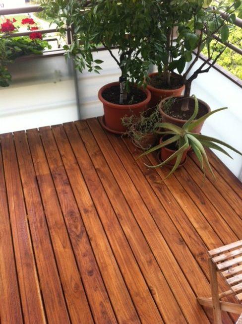 Teak Holzterrasse BS - Holzdesign Balkon, Veranda & Terrasse
