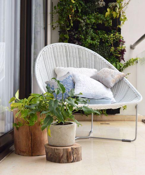 Macetas de madera para decorar tus exteriores MADERA HogarPlantas y accesorios