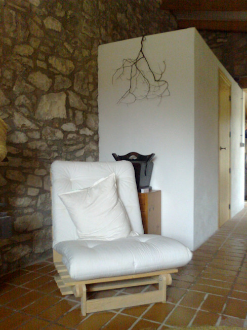 Alacet Arquitectura SL Corredores, halls e escadas campestres