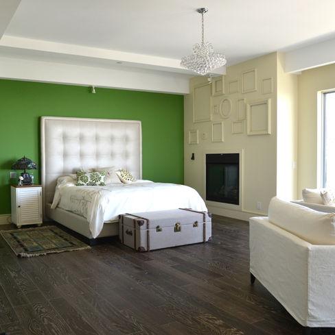 Nightingale Decor, Hollywood Hills CA. 2014 Erika Winters® Design Dormitorios modernos