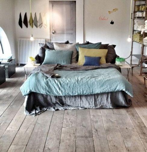 Scenes d'interieuR Mediterranean style bedroom