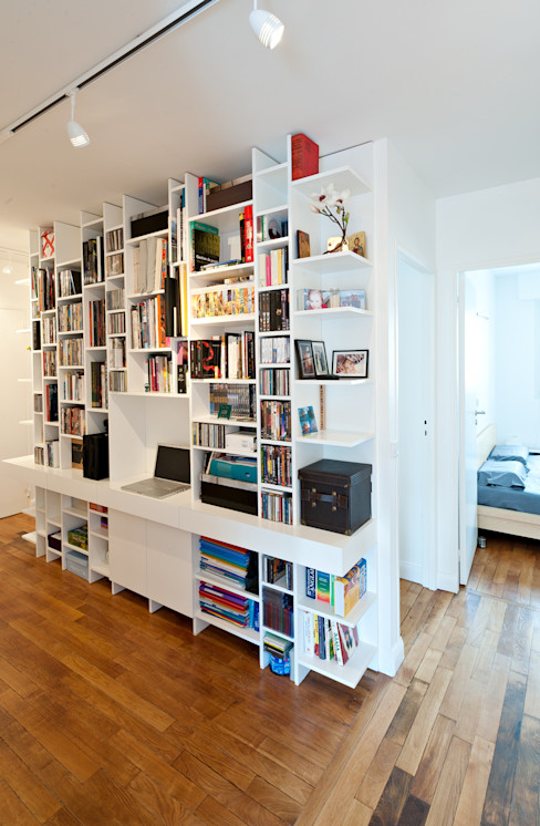 Fables de murs Modern Study Room and Home Office