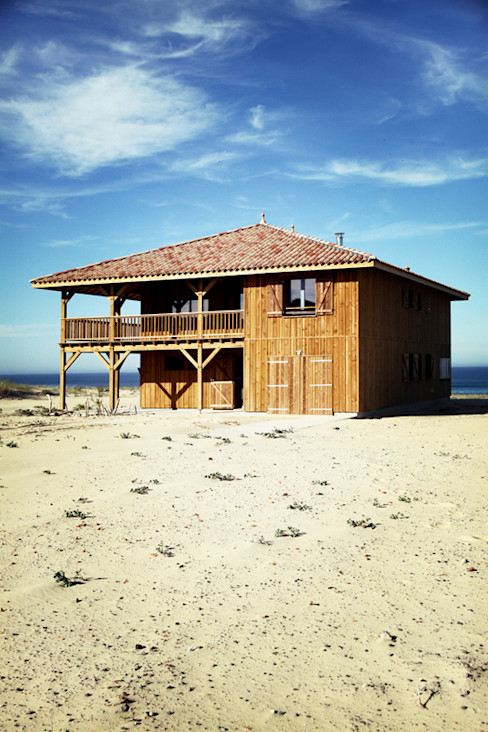 EURL Cyril DULAU architecte Wooden houses