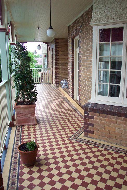 Geometric (Victorian) Tiles Original Features Wände & BodenFliesen