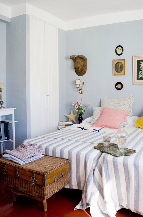 Casa Josephine Mediterranean style bedroom