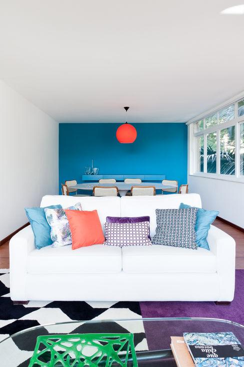Suite Arquitetos Moderne Wohnzimmer