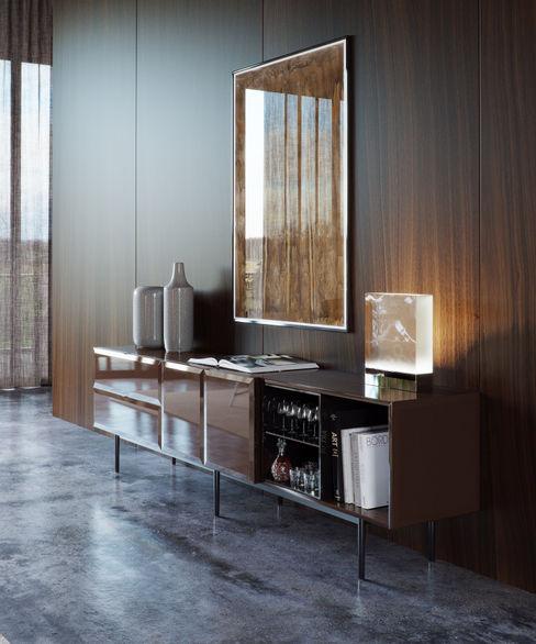 Minotti space Architectural Visualization Moderne Wohnzimmer