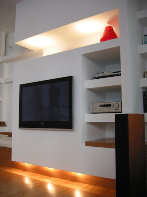 Laura Marini Architetto Minimalist living room