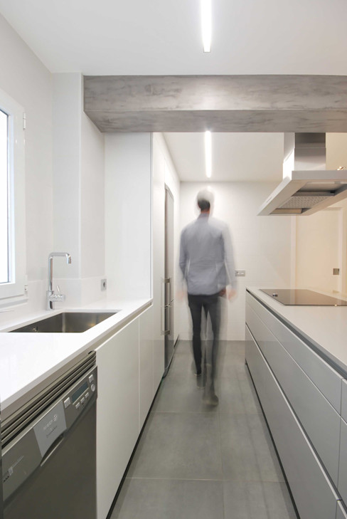 Nan Arquitectos Minimalistische Küchen