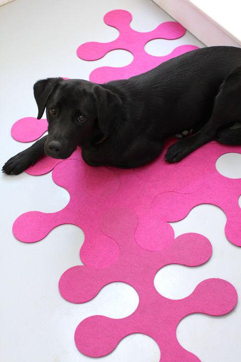 Molécule Carpet by Nathalie and Cyril Daniel La Corbeille Éditions SalonAkcesoria i dekoracje