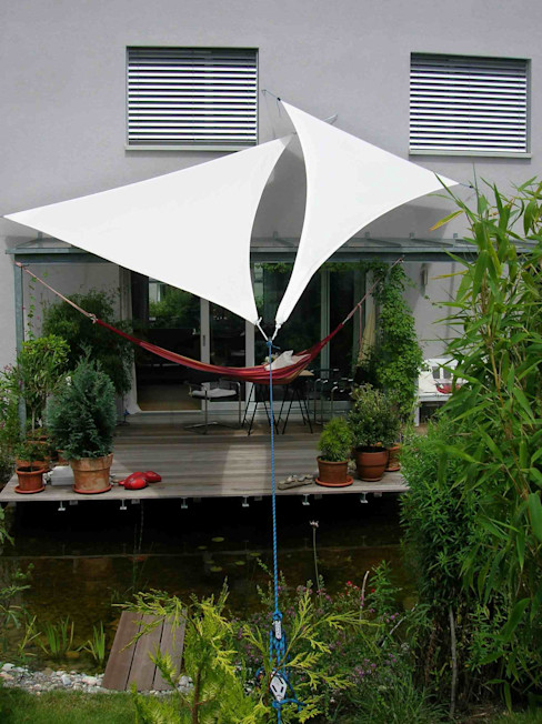 Sonnensegel Textile Sonnenschutz- Technik Balkon, Veranda & TerrasseAccessoires und Dekoration