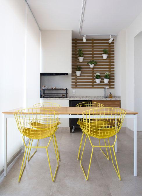 Varanda Gourmet Decorare Studio de Arquitetura Varandas, alpendres e terraços modernos