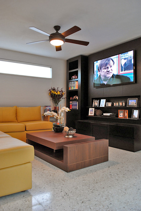 CORTéS Arquitectos Modern living room