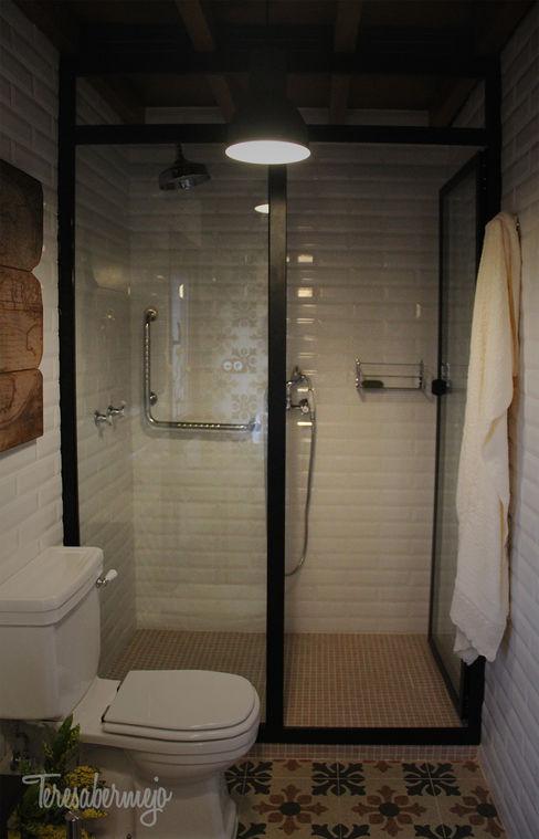 Diseñadora de Interiores, Decoradora y Home Stager Salle de bain rustique