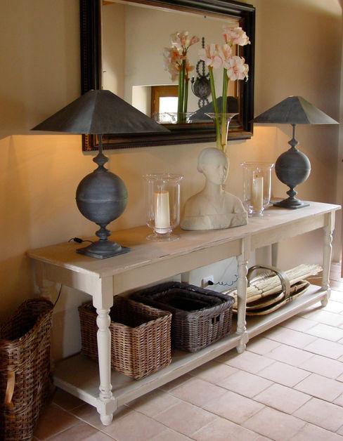 Hallway in an Italian Villa Clifford Interiors KitchenSinks & taps
