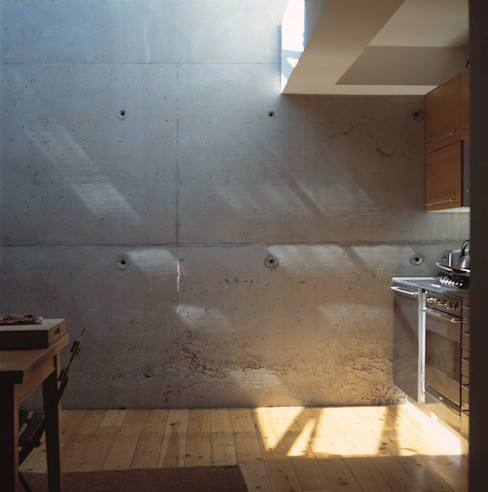 Hillside Houses, Montpelier Emmett Russell Architects Dapur Modern