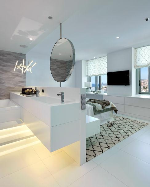 Molins Design Baños de estilo mediterráneo