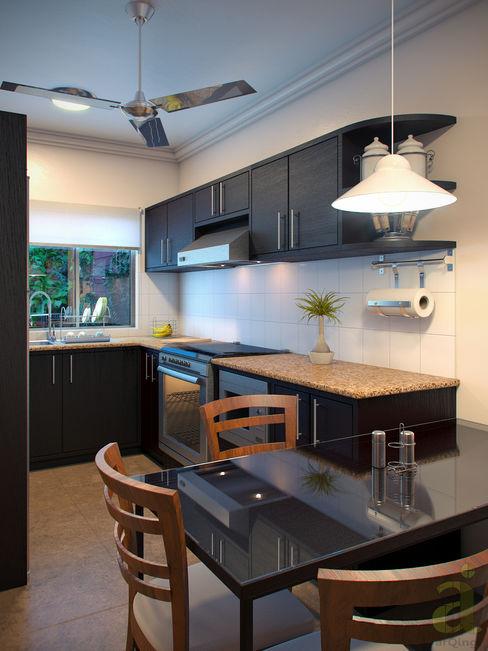 arQing Modern kitchen