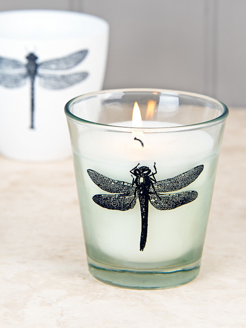 Dragonfly Candle homify HouseholdAccessories & decoration