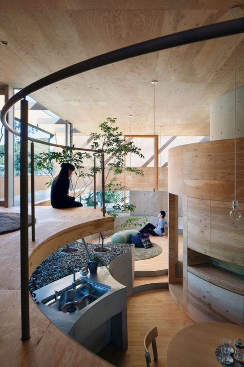 Pit house UID Modern Mutfak