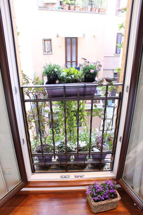 Arch. Silvana Citterio Balcones y terrazas de estilo moderno