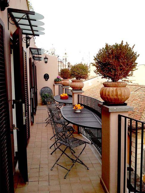 ARREDO ESTERNO Studio Tecnico Arch. Lodovico Alessandri Balcone, Veranda & TerrazzoAccessori & Decorazioni