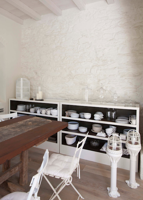 Architetto Silvia Giacobazzi Rustic style living room