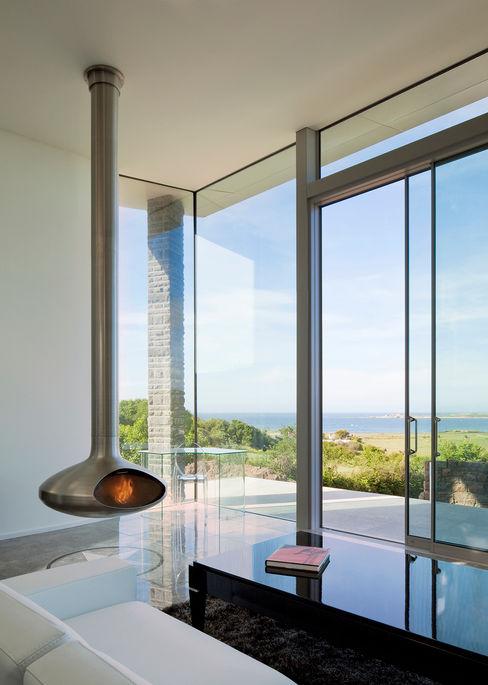Etoile du Nord JAMIE FALLA ARCHITECTURE Modern Living Room