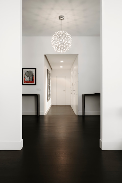 ANG42 Modern corridor, hallway & stairs