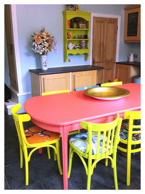 Kitchen, Leeds Crow's Nest Interiors مطبخ