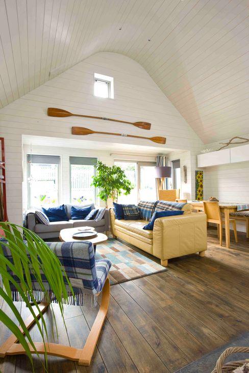 Living Room Coast2Coast Architects Scandinavian style living room