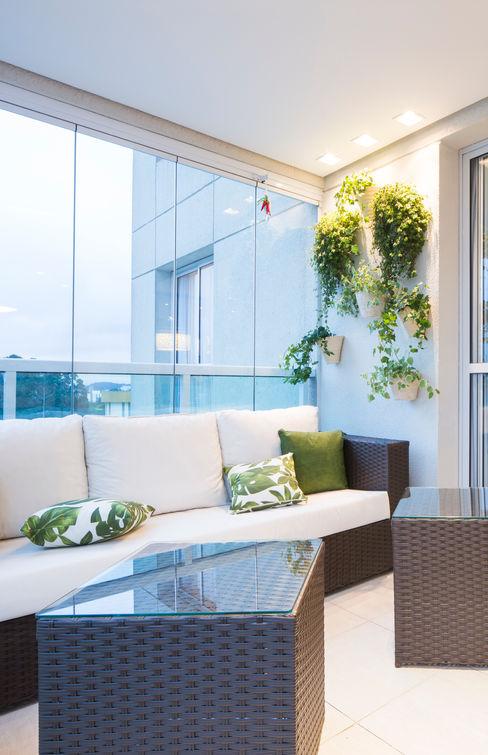 ArkDek Balcone, Veranda & Terrazza in stile eclettico