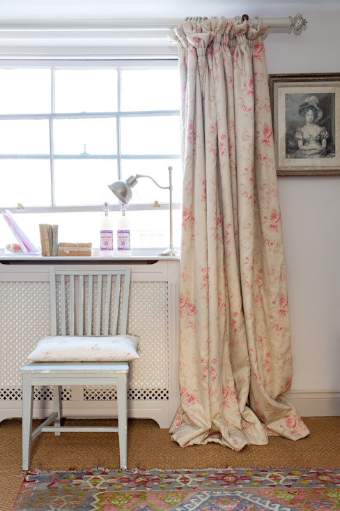 Belmont Cabbages & Roses Windows & doors Curtains & drapes