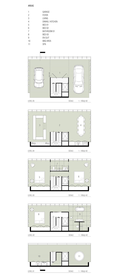 Cliff House by Modscape Concept floorplans Modscape Holdings Pty Ltd