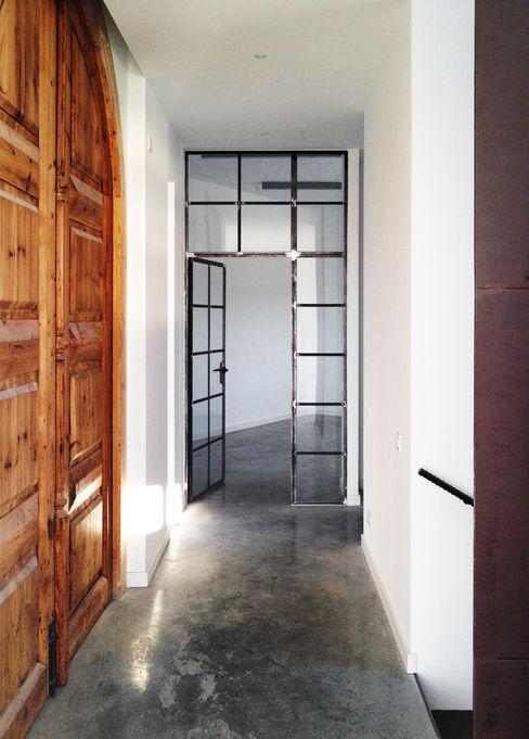 08023 Architects 地中海走廊,走廊和楼梯