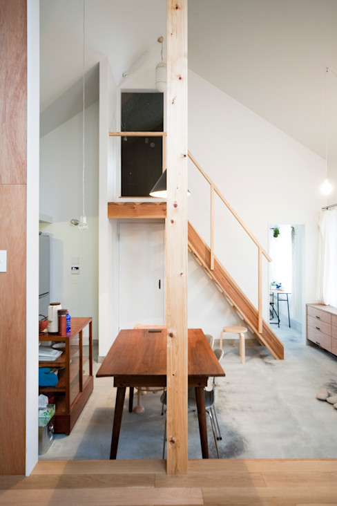 straight design lab Scandinavian style dining room