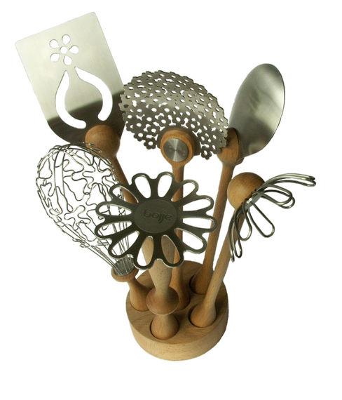 Wild Flower Utensil Set bojje ltd CuisineUstensiles de cuisine