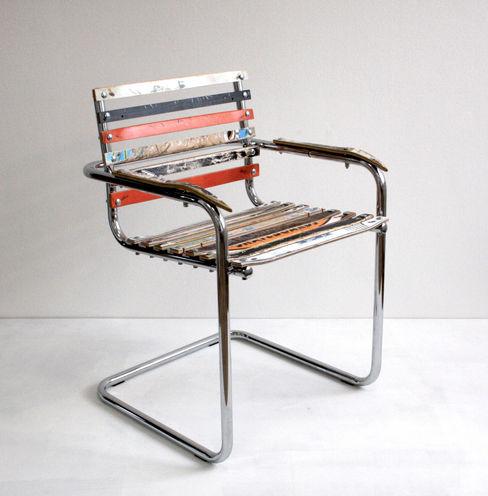 Brettschwinger - Upcycling Stuhl Colourform EsszimmerStühle und Bänke