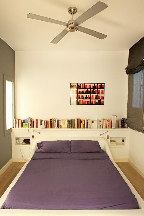 Miel Arquitectos 모던스타일 침실