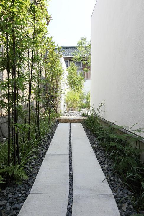 Sakurayama-Architect-Design Moderner Garten
