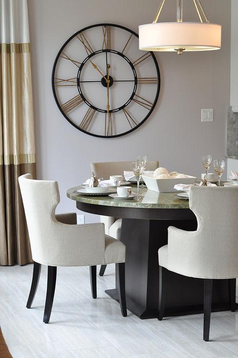 CAMPBELL HOUSE – EDMONTON – ALBERTA – CANADA Ceramica Fioranese Sala da pranzo in stile classico