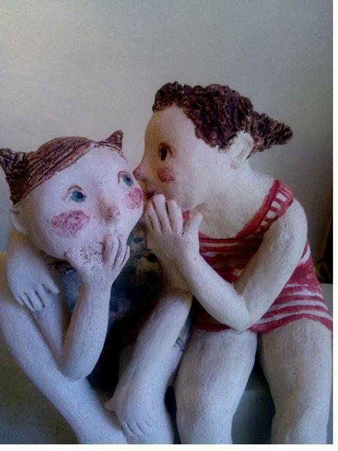 Jackie Alonso Céramique Kunst Sculpturen