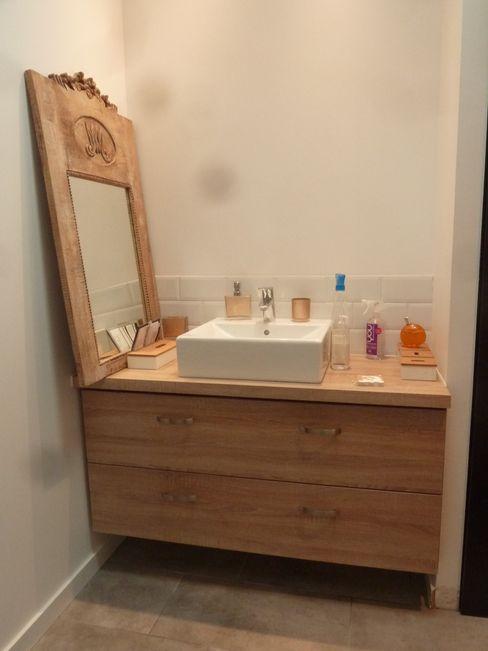 EURL Cyril DULAU architecte Ванная комната в стиле модерн