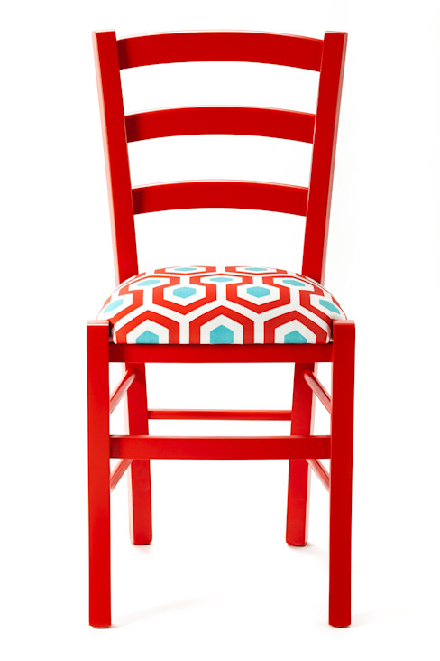 Geometric Chair Plinca Home Negozi & Locali commerciali in stile eclettico