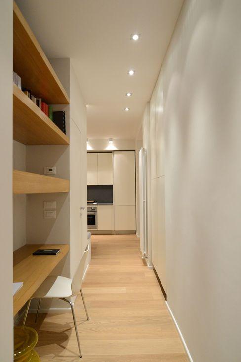 ministudio architetti Minimalistische Arbeitszimmer
