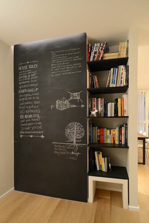 ministudio architetti Living roomTV stands & cabinets